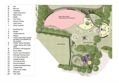 Whitehall Play Area Plan